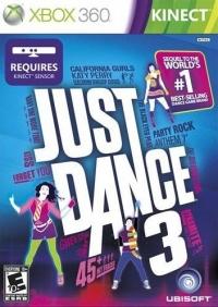 Just Dance 3 Box Art