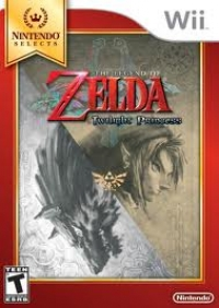 Legend of Zelda, The: Twilight Princess - Nintendo Selects Box Art