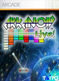 Arkanoid Live! Box Art