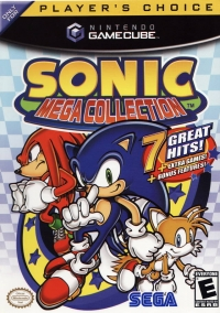 Sonic Mega Collection - Player's Choice Box Art