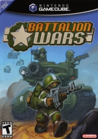 Battalion Wars Box Art