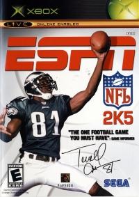 ESPN NFL 2K5 Box Art