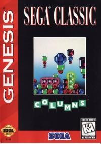 Columns - Sega Classic (ESRB) Box Art