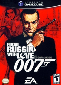 From Russia With Love Box Art