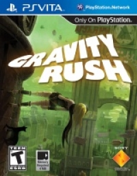 Gravity Rush Box Art