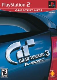 Gran Turismo 3: A-Spec - Greatest Hits Box Art