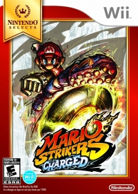 Mario Strikers Charged - Nintendo Selects Box Art