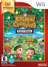 Animal Crossing: City Folk - Nintendo Selects Box Art