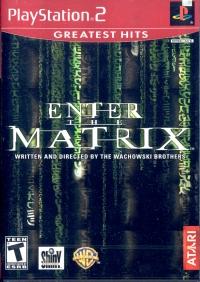 Enter the Matrix - Greatest Hits Box Art