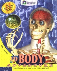 3D Body Adventure Box Art