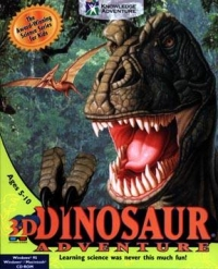 3D Dinosaur Adventure Box Art