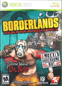 Borderlands: Double Game Add-On Pack Box Art