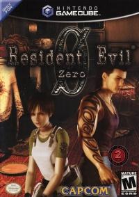 Resident Evil Zero Box Art