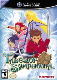 Tales of Symphonia Box Art