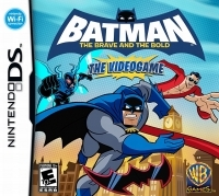 Batman: The Brave and the Bold: The Videogame Box Art