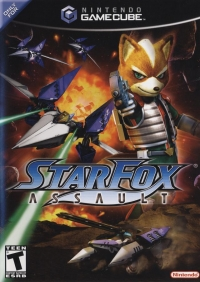 Star Fox: Assault Box Art