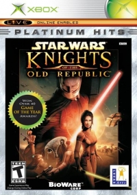 Star Wars: Knights of the Old Republic - Platinum Hits Box Art