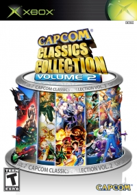 Capcom Classics Collection Volume 2 Box Art