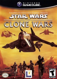 Star Wars: The Clone Wars Box Art