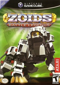 Zoids: Battle Legends Box Art