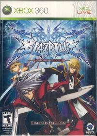 BlazBlue: Calamity Trigger - Limited Edition Box Art