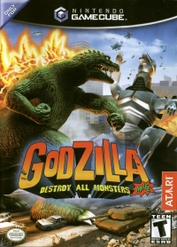 Godzilla: Destroy All Monsters Melee Box Art