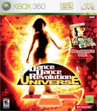 Dance Dance Revolution: Universe (Game and Controller) [NA] Box Art