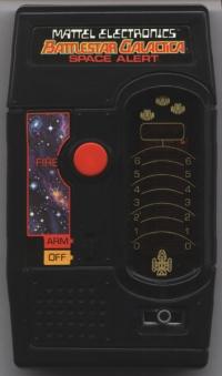 Battlestar Galactica Space Alert Box Art