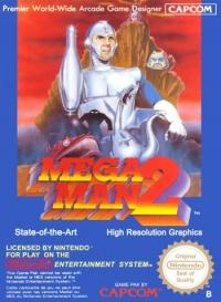 Mega Man 2 Box Art