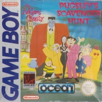 Addams Family, The: Pugsley's Scavenger Hunt [DE] Box Art