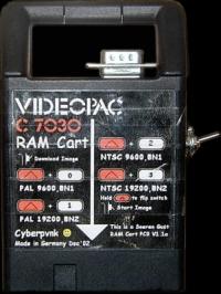Videopac C7030 RAM Dev Cart Box Art