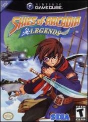 Skies of Arcadia Legends Box Art