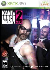 Kane & Lynch 2: Dog Days Box Art