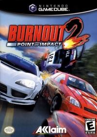 Burnout 2: Point of Impact Box Art