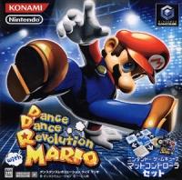 Dance Dance Revolution with Mario - Mat Controller Set Box Art