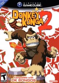 Donkey Konga 2 Box Art