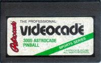 Astrocade Pinball Box Art