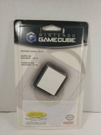Nintendo GameCube Memory Card 1019 - White Box Art