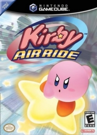 Kirby Air Ride Box Art