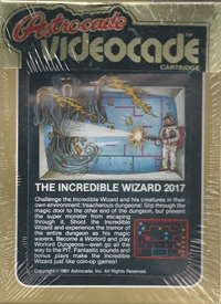 Incredible Wizard, The Box Art