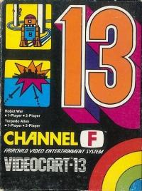 Videocart 13: Robot War/Torpedo Alley Box Art