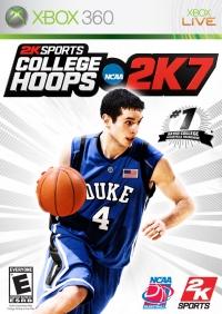 College Hoops NCAA 2K7 Box Art