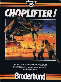 Choplifter! Box Art
