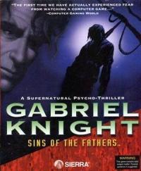 Gabriel Knight: Sins of the Fathers Box Art