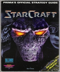 StarCraft - Prima's Official Strategy Guide Box Art