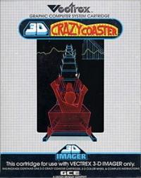 3D Crazy Coaster Box Art