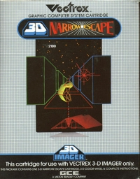 3D Narrow Escape Box Art