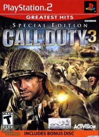 Call of Duty 3: Special Edition - Greatest Hits Box Art