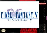 Final Fantasy V Box Art
