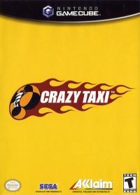 Crazy Taxi Box Art